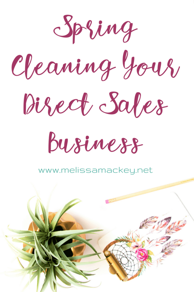 Time to Spring Clean your business! www.melissamackey.net