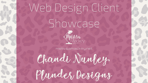 Web design: Chandi Nunley, Plunder Designs