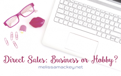 Direct Sales: Business or Hobby?